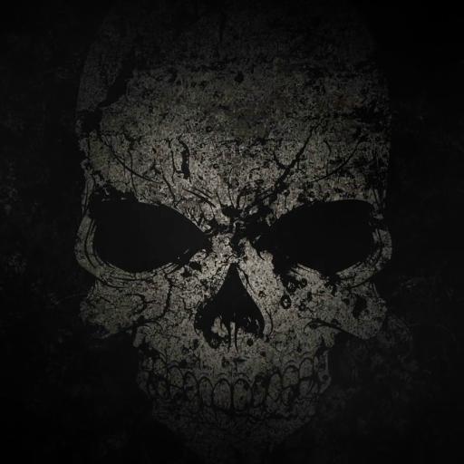 الجمجمة السوداء خلفية متحركة التطبيقات على Google Play