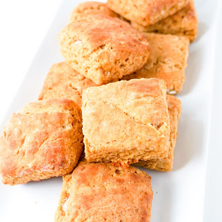 Honey Pumpkin Biscuits.