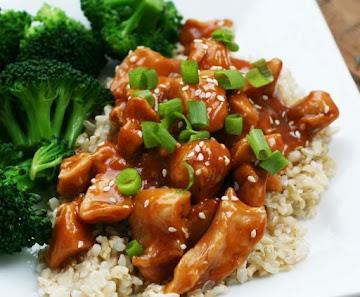 Spicy Sesame Chicken (sallye) Recipe
