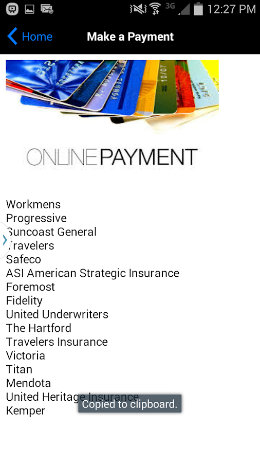GMI Get Me Insured- screenshot