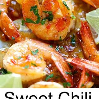 Sweet Chili-Garlic Shrimp.