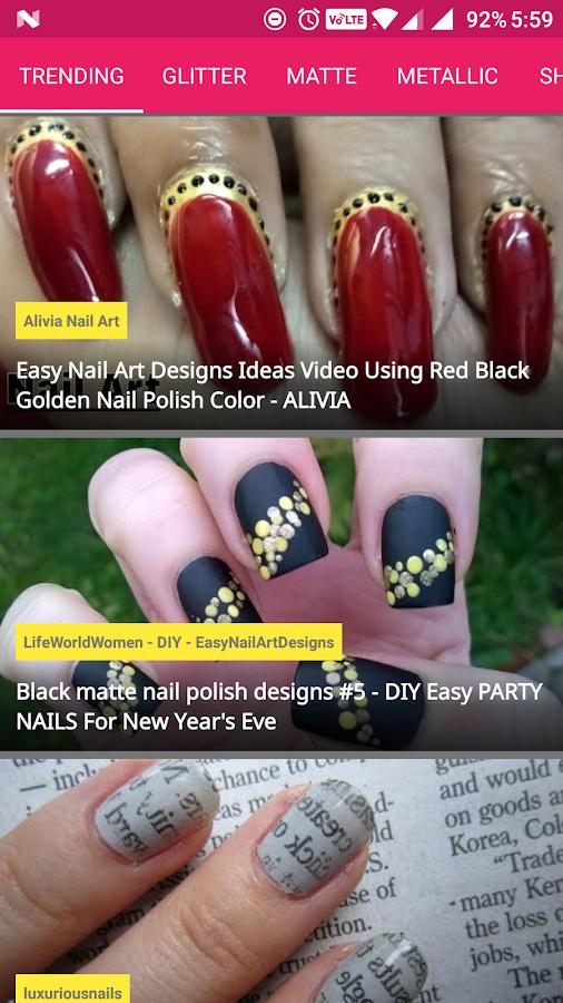Nailart nail polish art designs android apps on google play nailart nail polish art designs screenshot prinsesfo Gallery