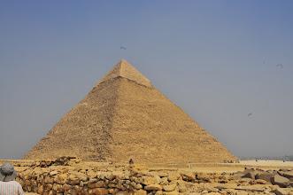 Photo: Pyramid of Khafre