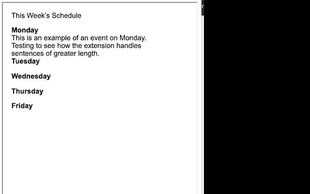 JHS Announcements