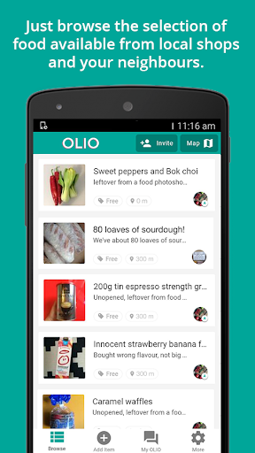 玩免費遊戲APP|下載OLIO - Food Sharing Revolution app不用錢|硬是要APP