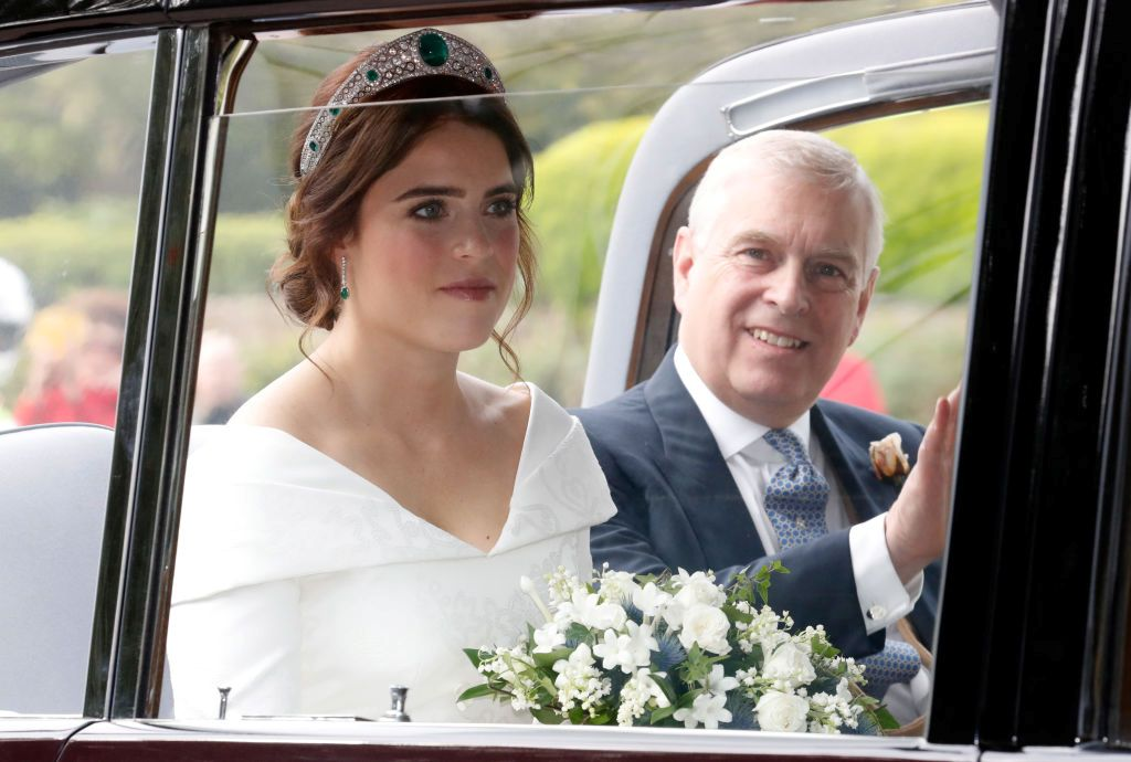 Poor Princess Eugenie Royal Wedding Starts On A Sour Note