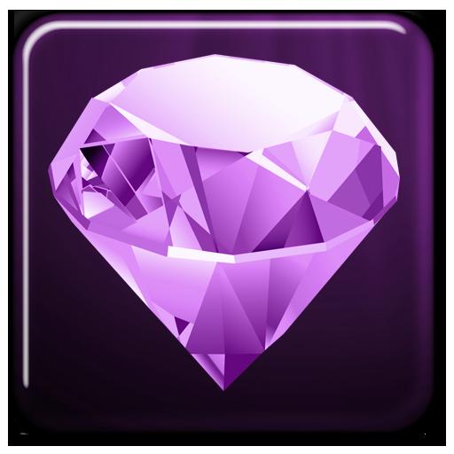 紫彩鑽動態壁紙 個人化 LOGO-玩APPs
