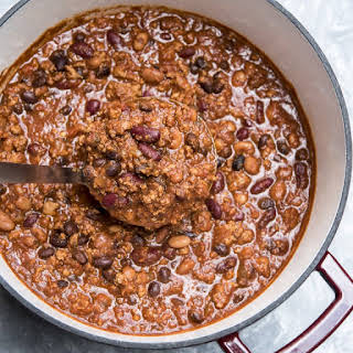 Three Bean Turkey Chili.