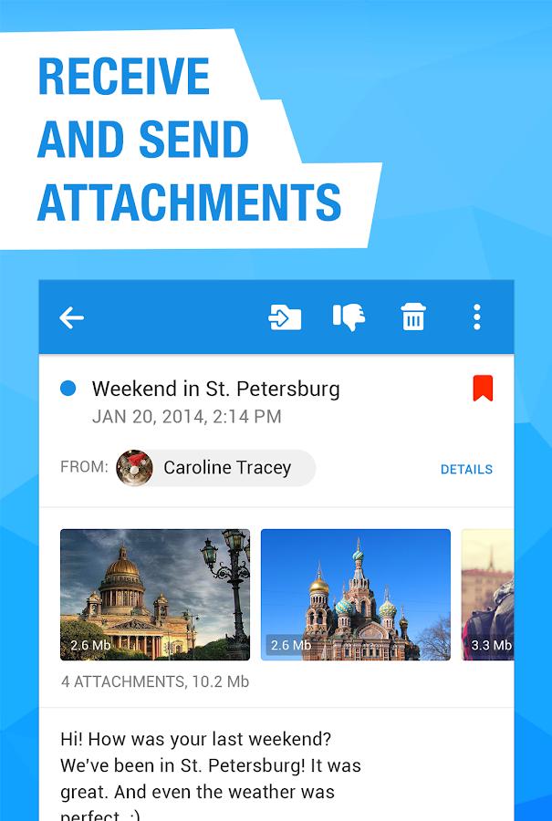 Mail.Ru - Email App- screenshot