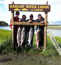 Photo: The Kasilof River is also a great destination for King salmon fishing.