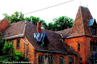 Photo: Gutshaus Ruine in Mecklenburg