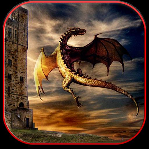 ドラゴン美しい壁紙 攝影 LOGO-玩APPs