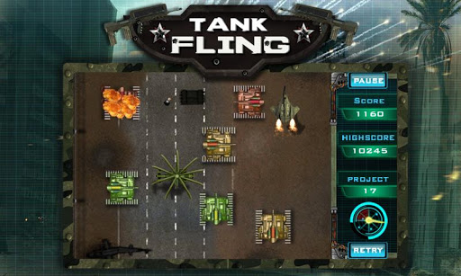 Tank Fling Game 1.1 screenshots 8