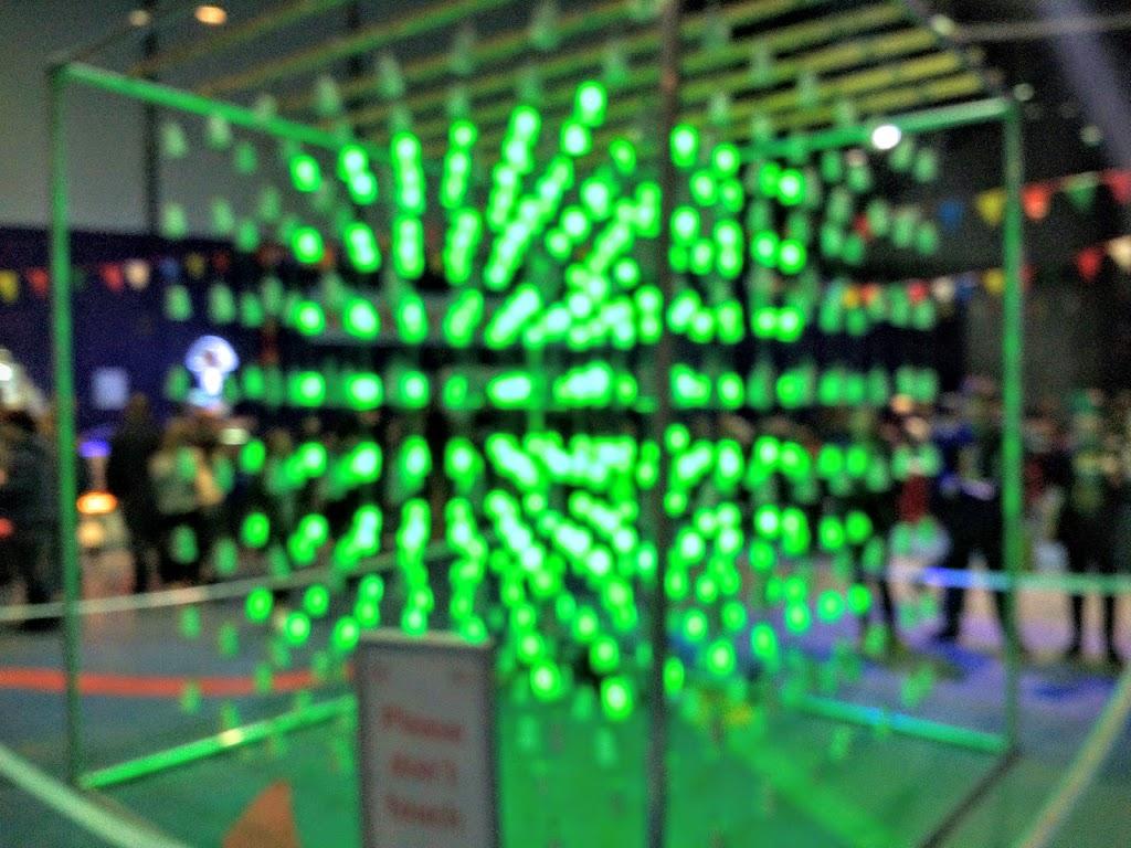 Giant light cube