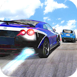 Racing In Traffic Icon