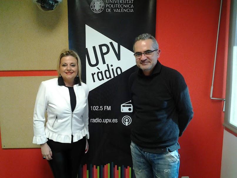 Hablemos de Fallas en UPV-RADIO. Programa nº 75. Amparo Picó, concejala de Ciudadanos en el Ayuntamiento de Valencia.