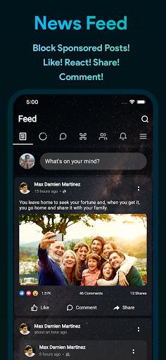 Bluer for Facebook and Messenger 1.6.8 screenshots 4