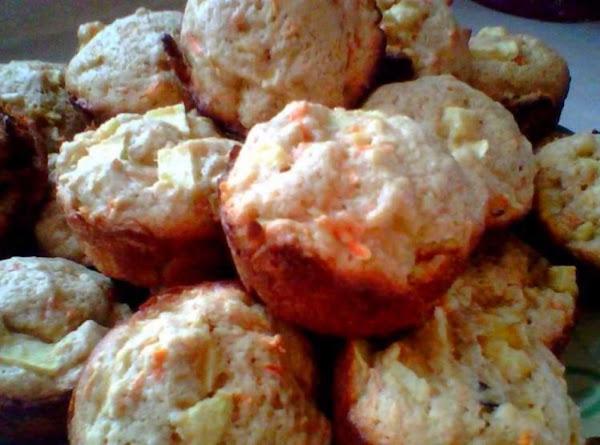 Apple Carrot Muffins Recipe