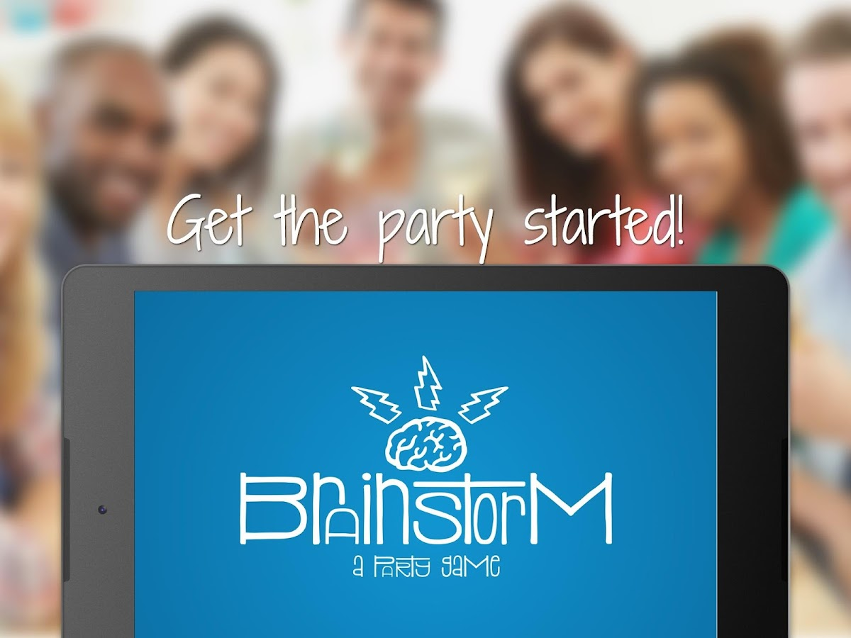 Brainstorm - a party game- screenshot