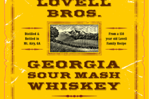 Logo for Georgia Sour Mash Whiskey
