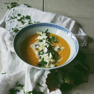 Creamy Curry-Coconut Soup // Vegan + GF + Oil Free.