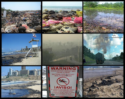 essay on various types of pollution