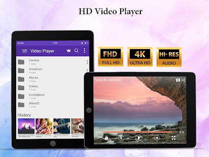 Video Player All format - Mp4 hd player Screenshot