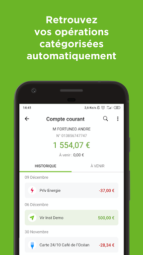 Fortuneo, mes comptes banque & bourse en ligne 8.3.3 Screenshots 3