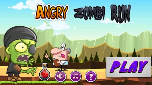 Angry Zombie Run screenshot 0