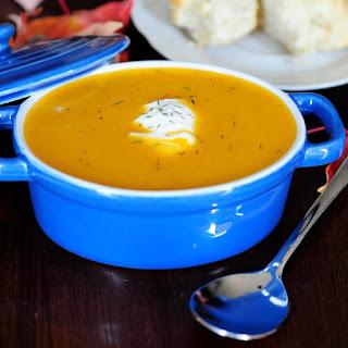 Brown Butter Butternut Squash Soup.