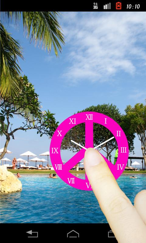 Peace Mark(Pink Color R)- screenshot