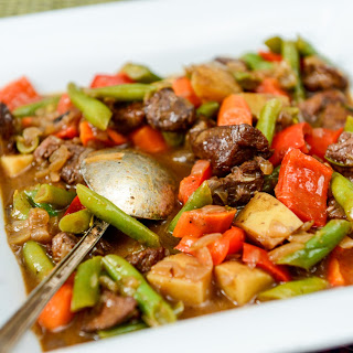 Beef and Many Vegetable Stew