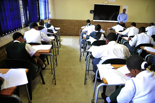 Examination: A review of the National Certificate Vocational qualification, which examines issues such as student selection, relevance, programme delivery and the quality of teachers, is expected to be completed by the end of 2017. Picture: SOWETAN