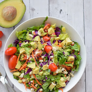 Healthy Chopped Salad.