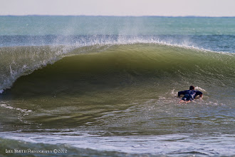 Photo: It's always nice to see a wave create a tube