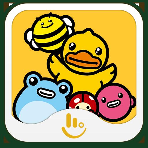 B.Duck TouchPal Sticker