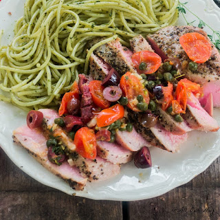 Tuna Steaks Kalamata Olives Recipes