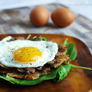 Brunch Portobello Potato Pancakes