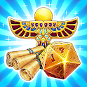 Cradle of Empires - Match 3 Games. Egypt jewels icon