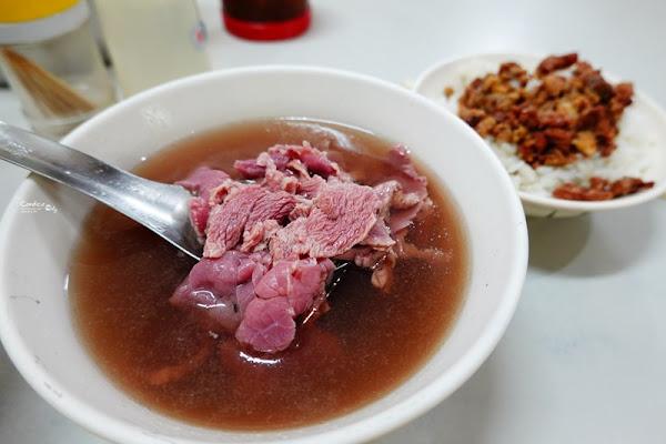 康樂街牛肉湯 超嫩台南牛肉湯推薦!在地人會吃的台南牛肉湯!好吃耶!