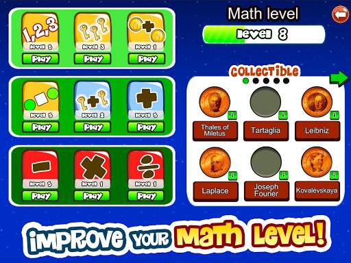Math Games for kids of all ages 8.49 10