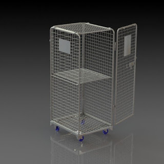 Trolleys and Rollbox, Laundry containers