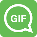 Whats a Gif - GIFS Sender(Saver,Downloader, Share) icon