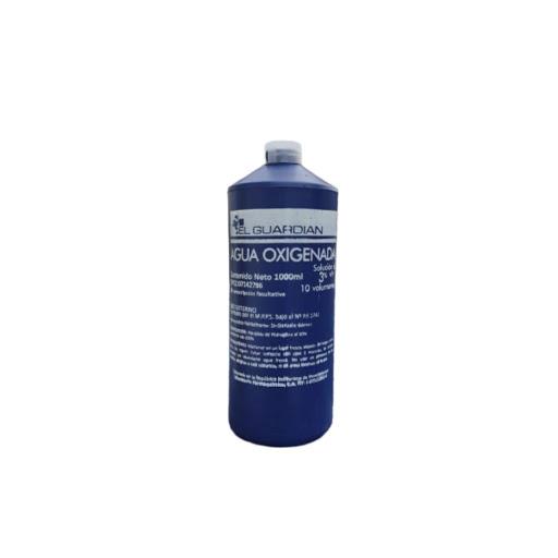 Agua Oxigenada Guardian 1000Ml Farmaquimica