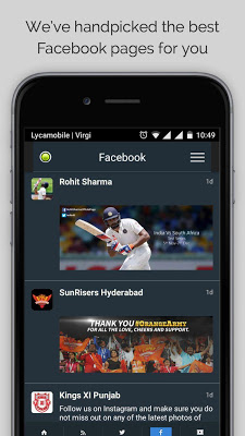 Rohit Sharma's Cricket News - screenshot