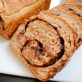 Chocolate Cinnamon Swirl Bread.