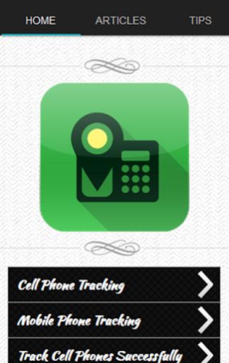 휴대 전화 추적기 팁