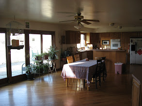 Photo: Dining room & kitchen