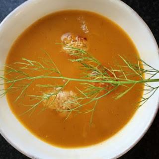 Gluten Free Turkey Meatball Soup with Fennel