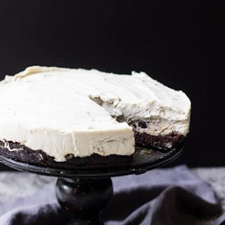 "Paleo Chocolate Chip Cookie Dough Brownie ""Cheesecake"""